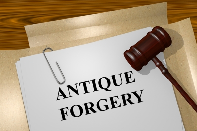 antique forgery papers