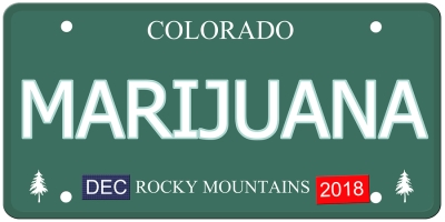 Colorado Marijuana Rocky Mountains 2018 Logo