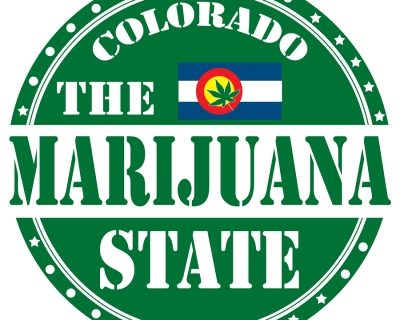The Marijuana State Colorado Logo