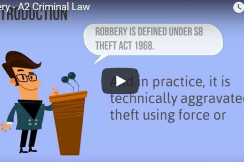 Robbery Law explained by Mastro, Barnes & Stazzone P.C.