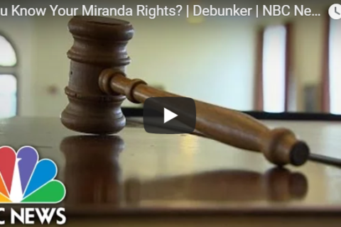 Myths About Miranda Rights by Mastro, Barnes & Stazzone P.C.